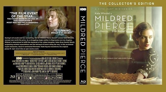 dvd cover Mildred Pierce