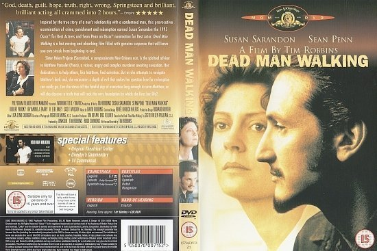 dvd cover Dead Man Walking (1995) WS R2