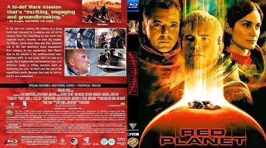 dvd cover Red Planet