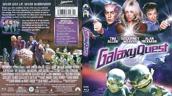 dvd cover Galaxy Quest Blu-Ray