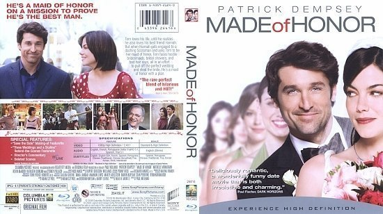 dvd cover Made of Honor (2009) Blu-Ray
