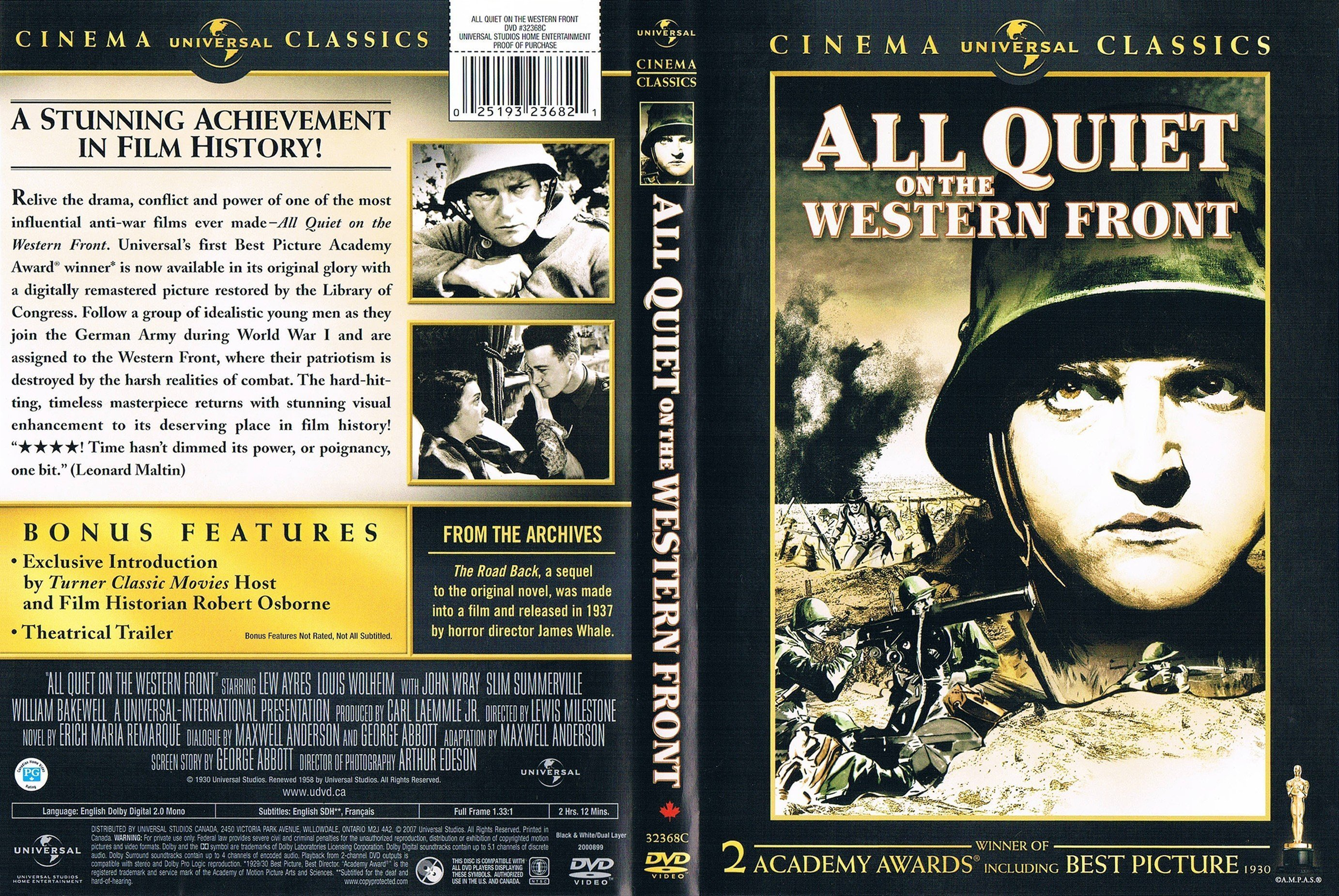 compare the book to the movie all quiet on a western front Need help on characters in erich maria remarque's all quiet on the western front check out our detailed character descriptions from the creators of sparknotes.