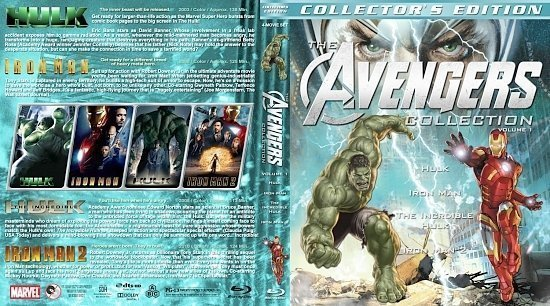 dvd cover The Avengers Collection Volume 1