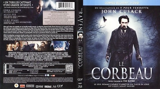 dvd cover Le Corbeau The Raven Canadian Bluray