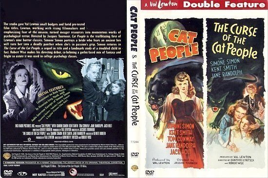 dvd cover Cat People/The Curse Of The Cat People (1942-1944) R1