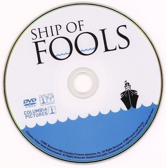 dvd cover Ship Of Fools (1965) FS R4
