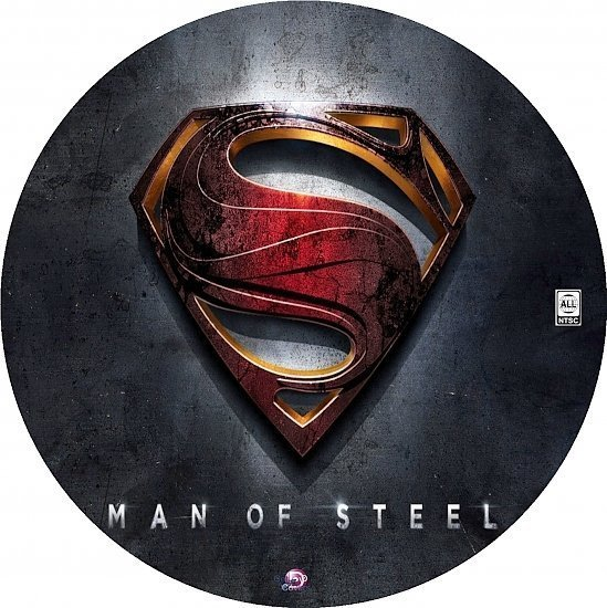 dvd cover Man of Steel R0 Custom