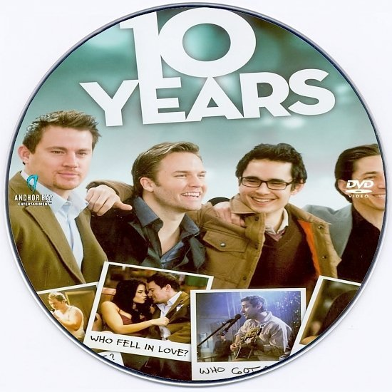 dvd cover 10 Years (2011) R0 Custom DVD Label