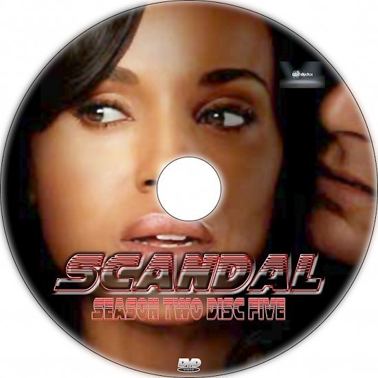 dvd cover Scandal: Season 2 (-) Custom DVD Labels