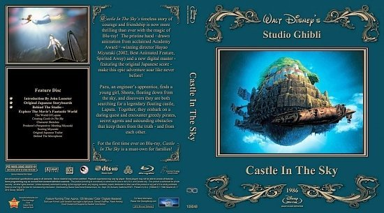 dvd cover Castle In The Sky