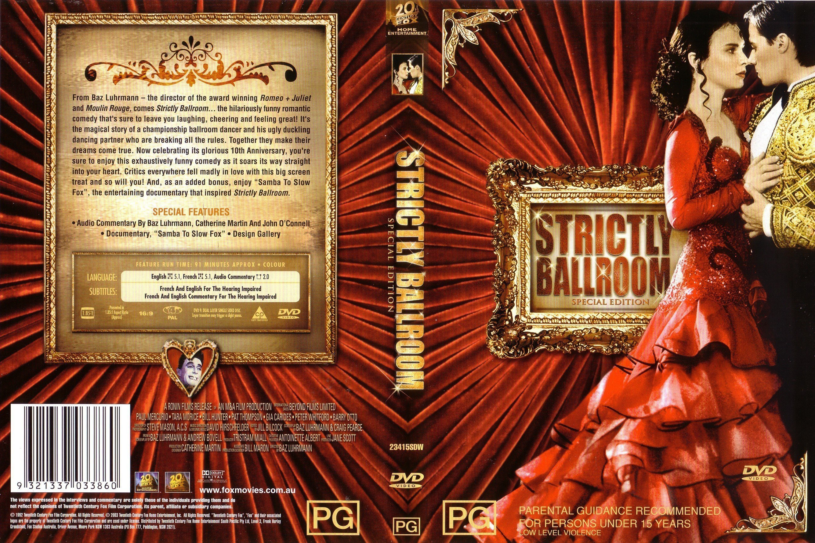 an analysis of strictly ballroom by craig pearce and baz luhrmann