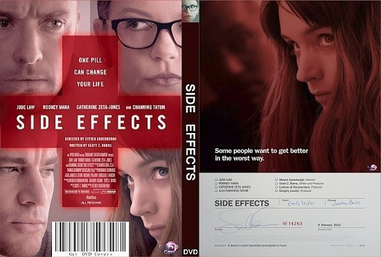 dvd cover Side Effects R0 Custom