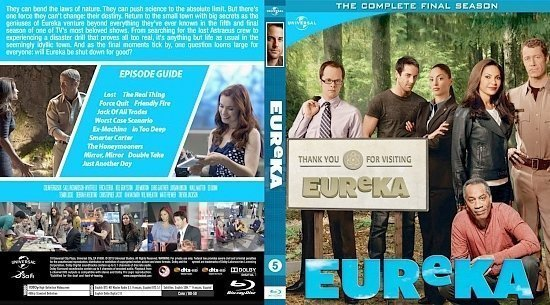 dvd cover Eureka Season5 BD v1