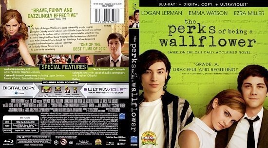 dvd cover The Perks Of Being A Wallflower