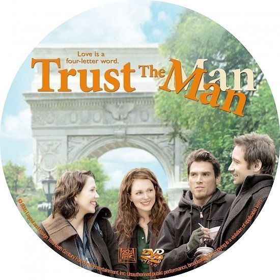 dvd cover Trust the Man (2005) R1