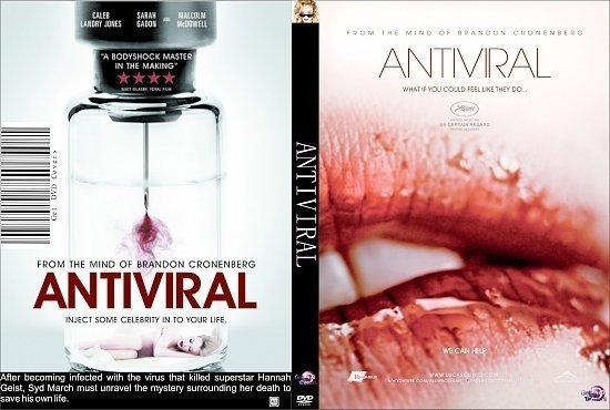 dvd cover Antiviral R0 Custom