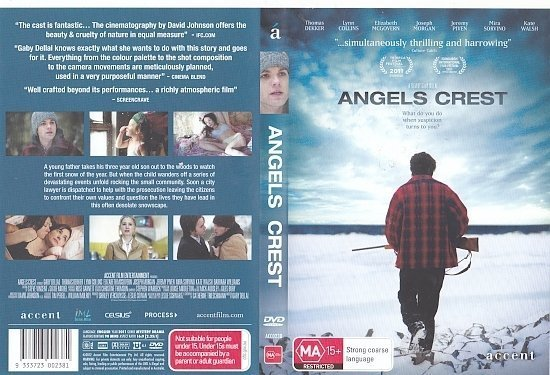 dvd cover Angels Crest (2011) R4