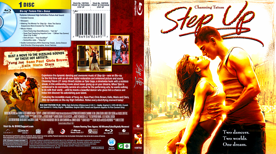dvd cover Step Up