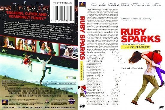 dvd cover Ruby Sparks R1