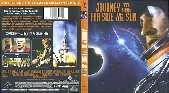 dvd cover Journey To The Far Side Of The Sun (1969) Blu-Ray