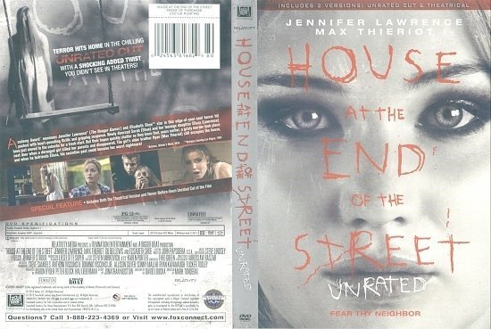 dvd cover House At The End Of The Street R1