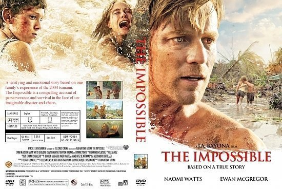 dvd cover The Impossible R0 Custom