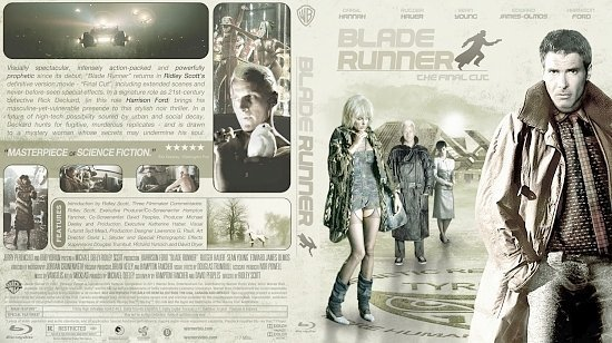 dvd cover Blade Runner Bluray2