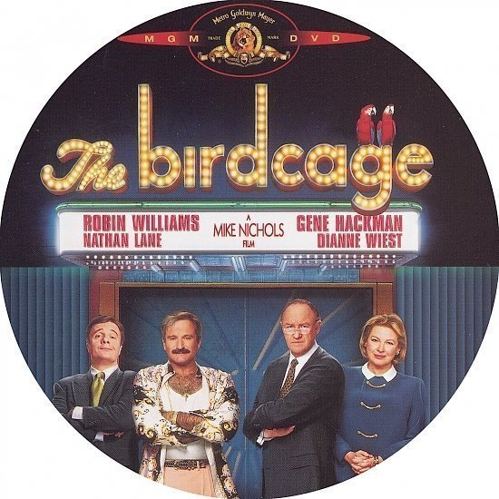 dvd cover The Birdcage (1996) R1