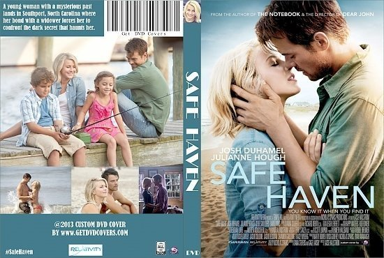 dvd cover Safe Haven R0 Custom