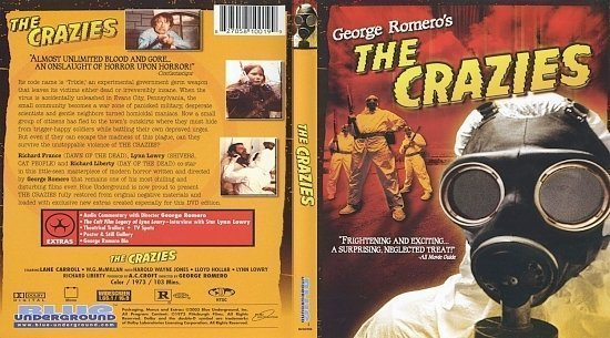 dvd cover The Crazies