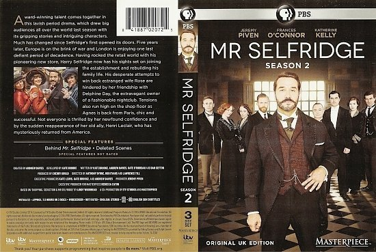 dvd cover Mr Selfridge: Season 2 R1
