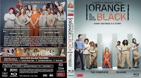 dvd cover Orange Is The New Black