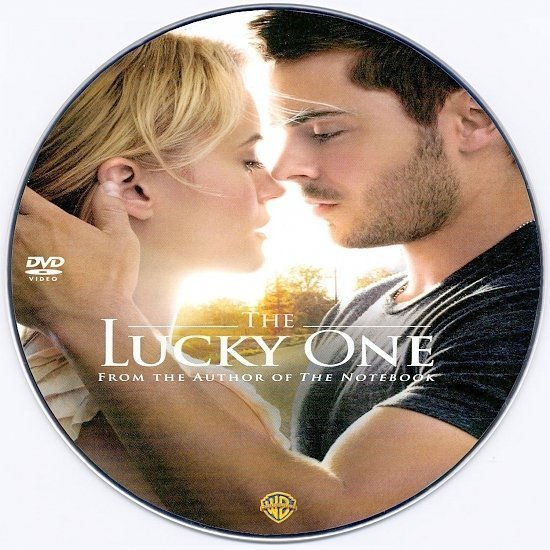 dvd cover The Lucky One R0 Custom DVD Label