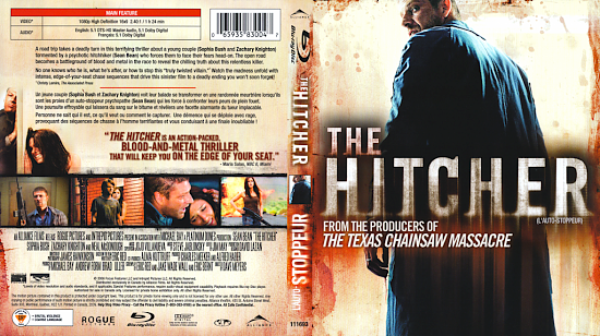 dvd cover The Hitcher