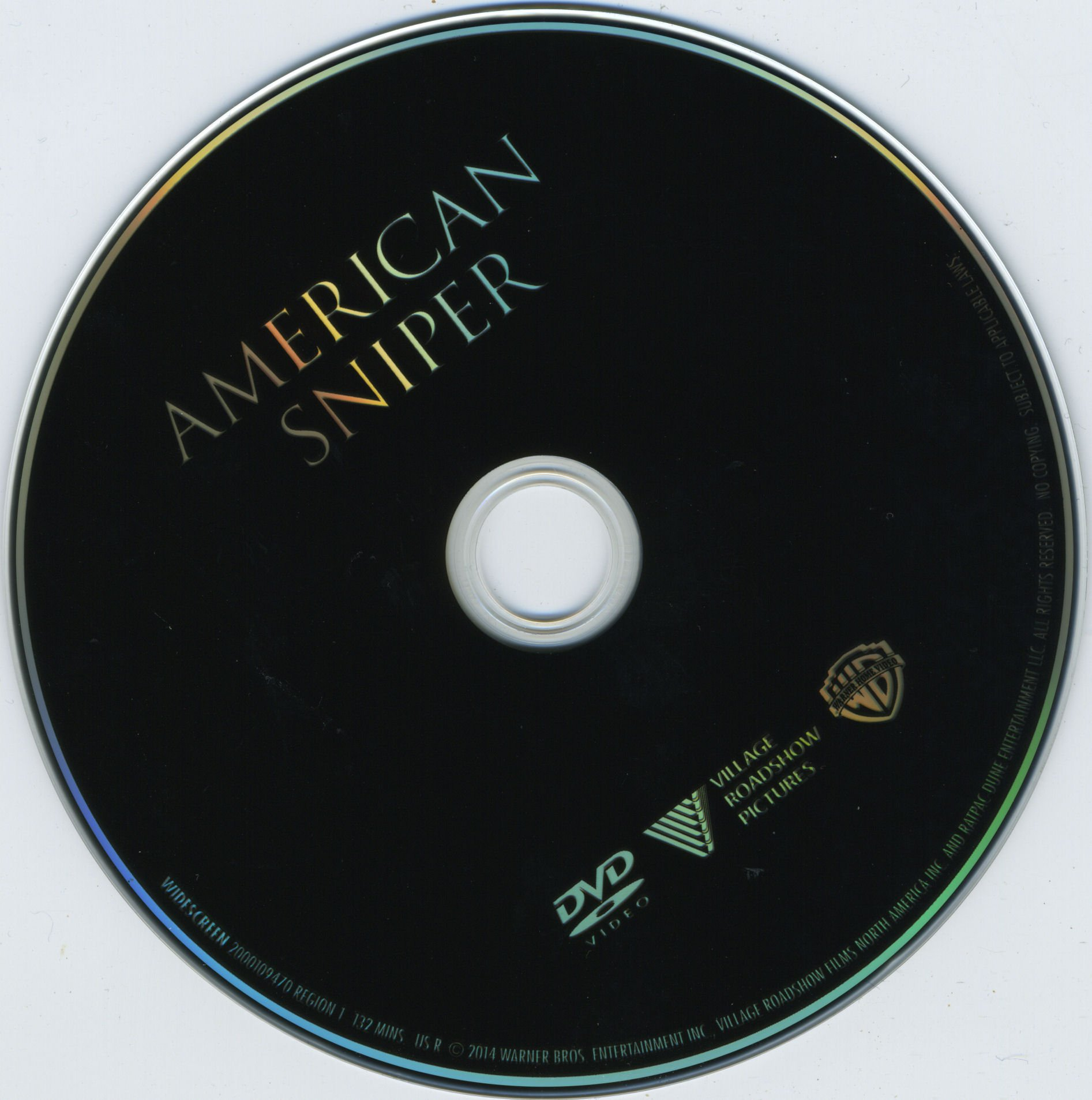 american sniper r1 blu ray label dvd covers and labels. Black Bedroom Furniture Sets. Home Design Ideas