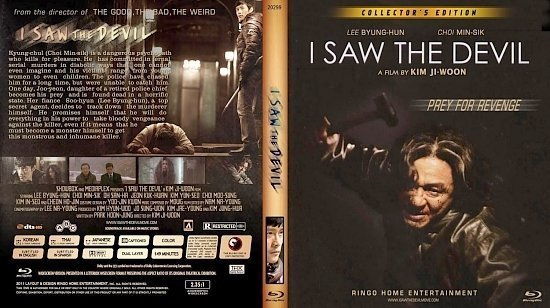 dvd cover Copy of I Saw The Sevil Blu Ray 2012