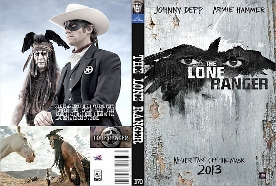 dvd cover The Lone Ranger R0 Custom
