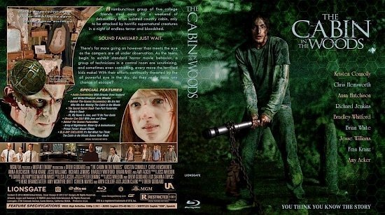 dvd cover Cabin In The Woods