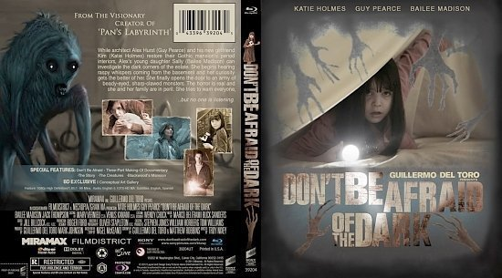 dvd cover Don t Be Afraid of the Dark1