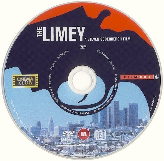 dvd cover The Limey (1999) WS R2