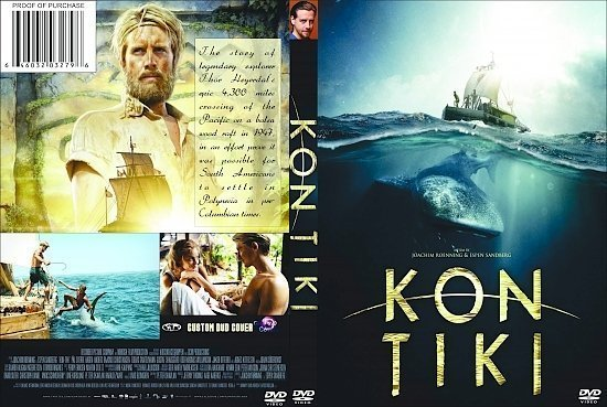 dvd cover Kon-Tiki R1 Custom