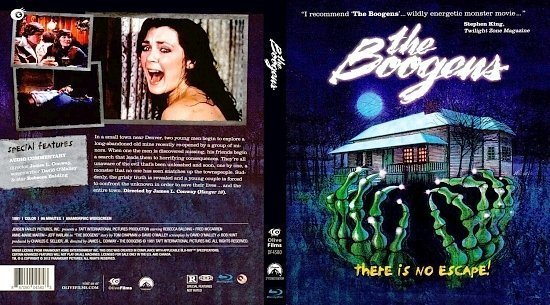 dvd cover The Boogens