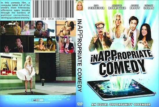 dvd cover InAPPropriate Comedy UR R0 Custom