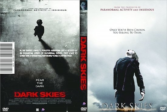 dvd cover Dark Skies R0 Custom