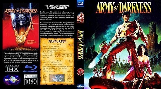 dvd cover Army Of Darkness