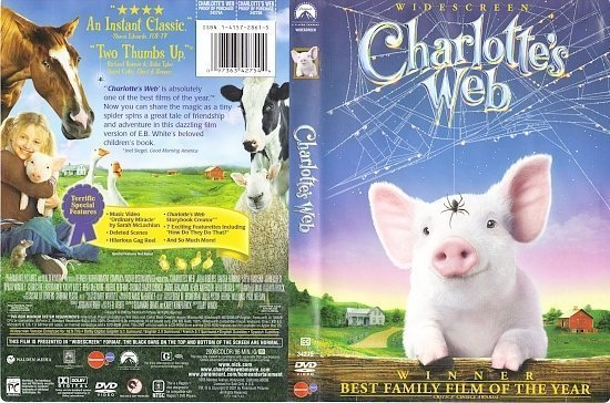 dvd cover Charlotte's Web (2006) WS R1