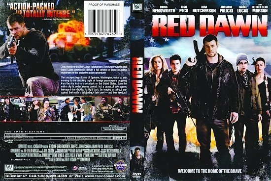 dvd cover Red Dawn R1