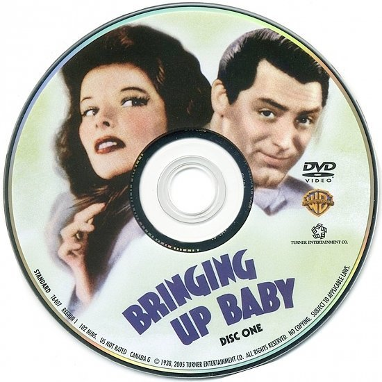 dvd cover Bringing Up Baby (1938) CE FS R1