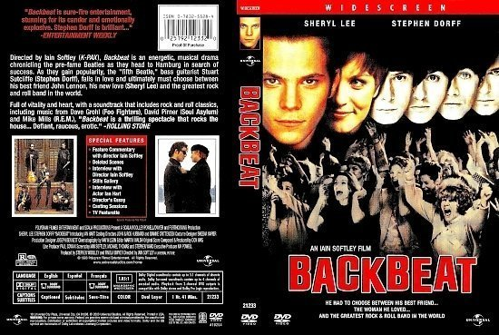 dvd cover Backbeat (1994) WS R1