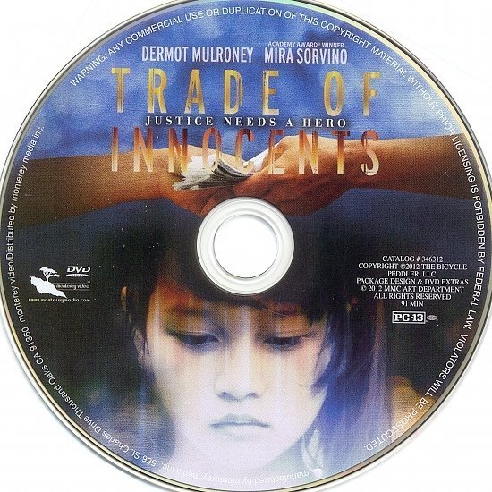 dvd cover Trade Of Innocents R1